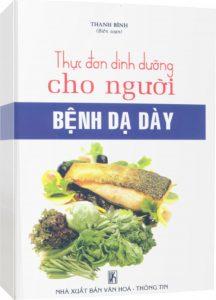 Sách chế độ dinh dưỡng cho người bệnh dạ dày