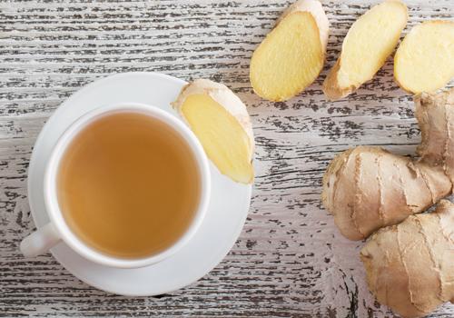 uống gừng giảm đau dạ dày nhanh
