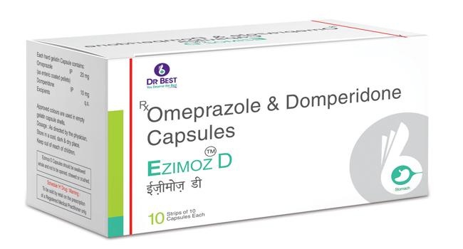 Thuốc đau dạ dày omeprazole mới