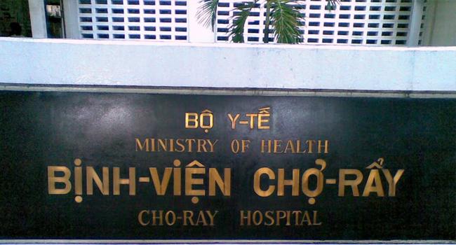 bệnh viện chỡ rẫy có khám nội soi gây mê không
