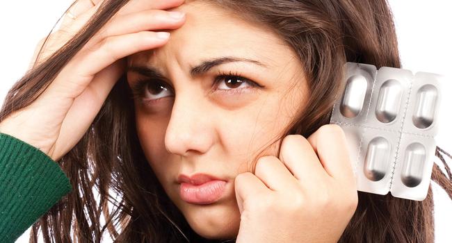 đau đầu khi uống thuốc trị hp