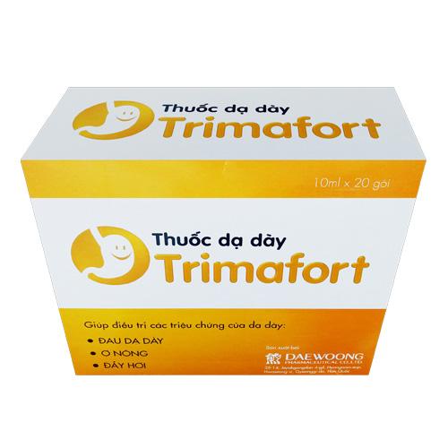 Hướng dẫn sử dụng thuốc dạ dày Trimafort: