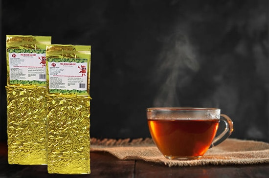 Sử dụng một số loại trà thảo dược tự nhiên như trà dây