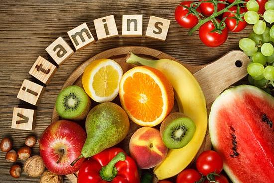 Bổ sung các thực phẩm giàu vitamin và khoáng chất