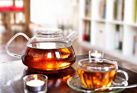 Uống thêm trà thảo dược