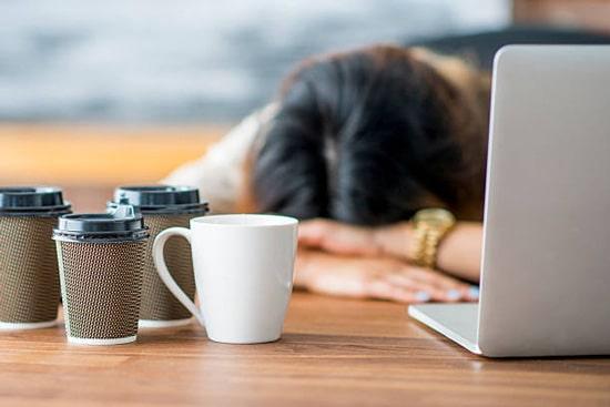Do căng thẳng và stress trong công việc